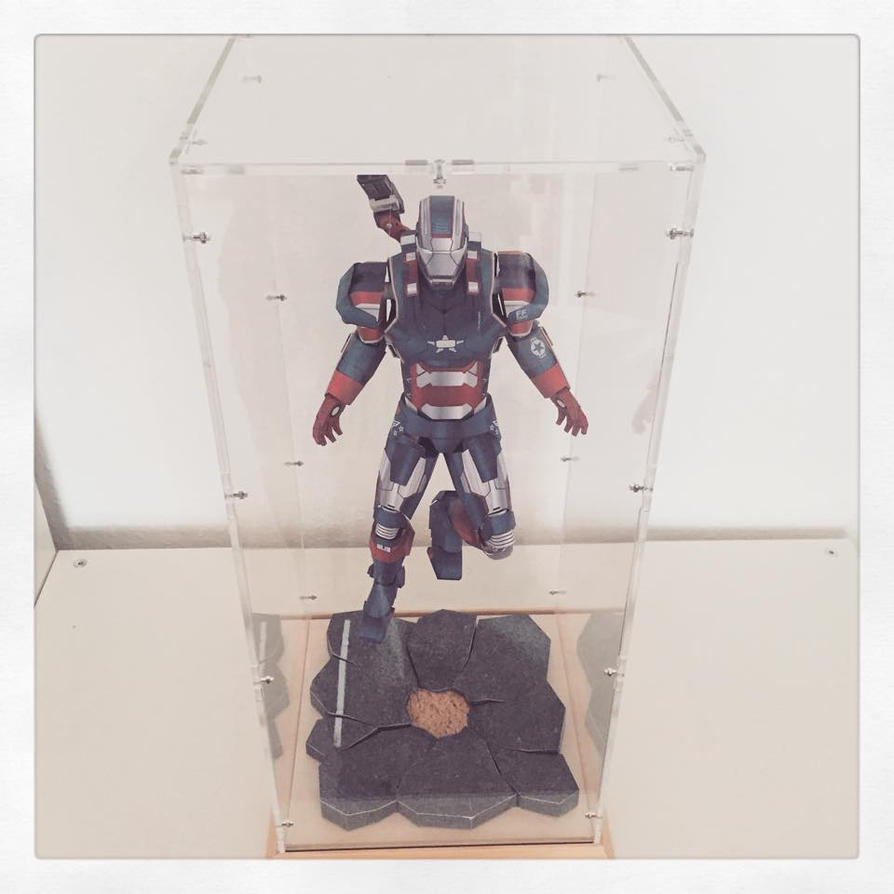 Iron Patriot Display Case Update by JouzuMania