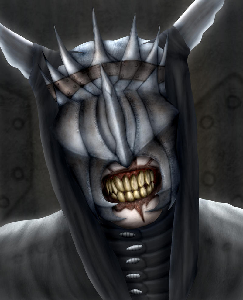 Mouth of Sauron by Sappel
