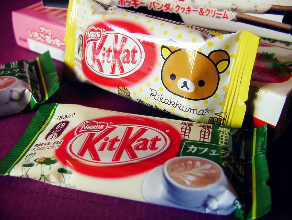 Rilakkuma KitKat by LadyxWinter