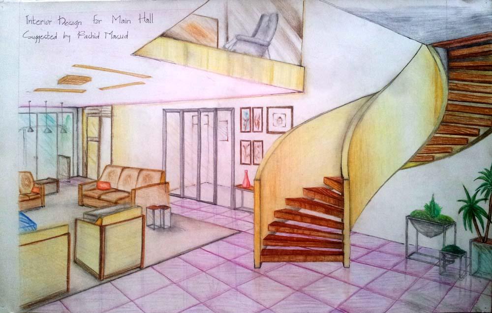 Main Hall, Interior by RashidM14