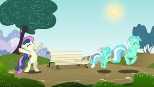 Come Back You Two!!!! Pegasus version