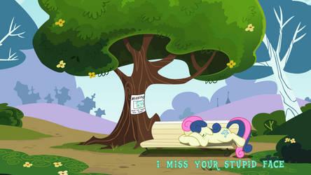 I Miss Your Stupid Face! by Baka-Neku