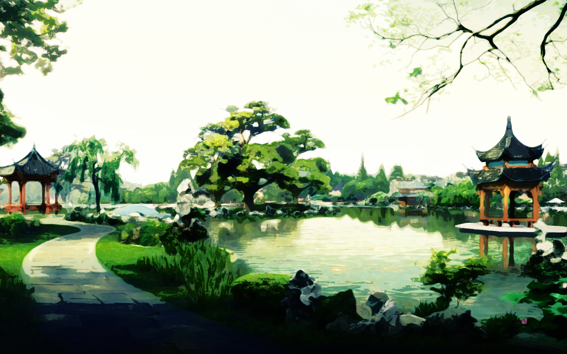 Tranquil Gardens By Reveriescanter On Deviantart