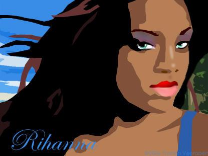 Rihanna by lovetubby