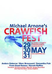 Poster Design (Crawfish Fest - B)