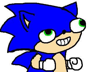 Sonic Derp By Sonicthehedgehog125 On Deviantart