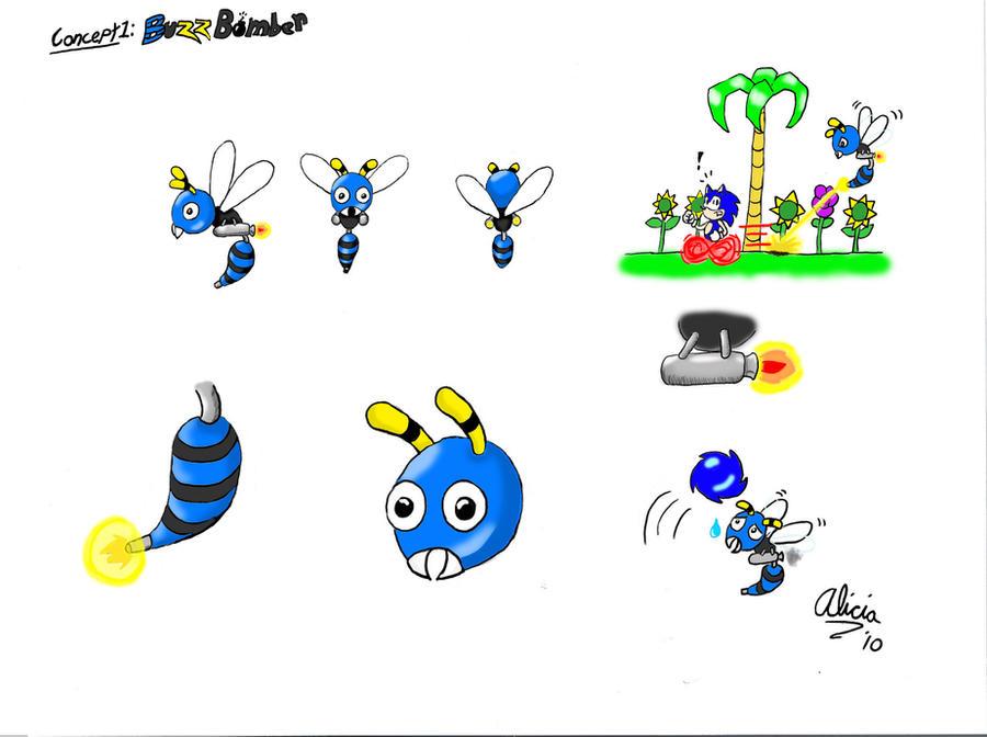 BuzzBomber Concept