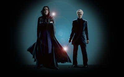 Snape_Draco by Melwasul