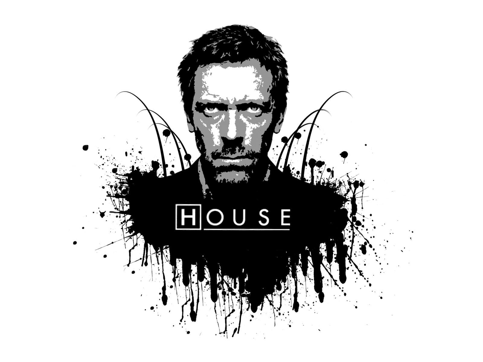 House MD - black and white by Melwasul