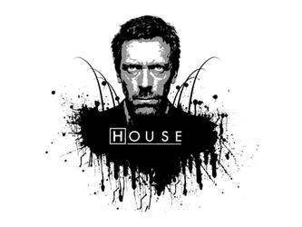 House MD - black and white