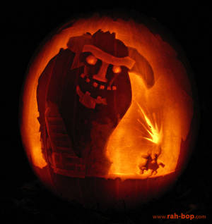 Shadow of the Colossus pumpkin