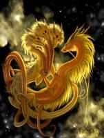Cosmic Gold by rah-bop