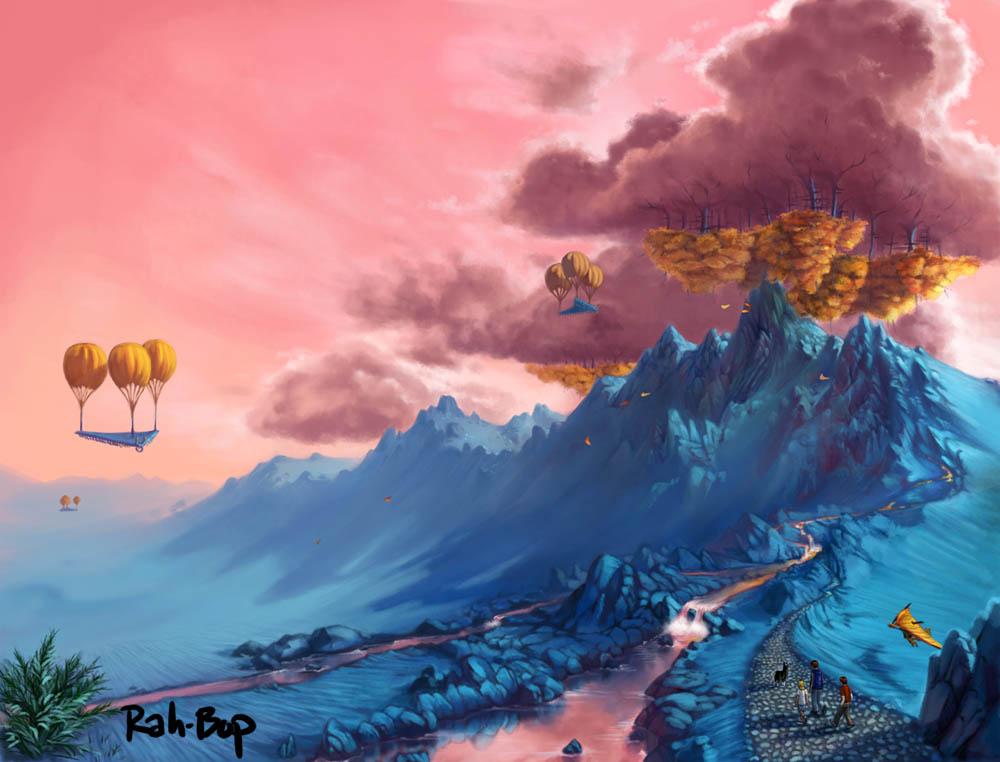 Upsidedonia by rah-bop