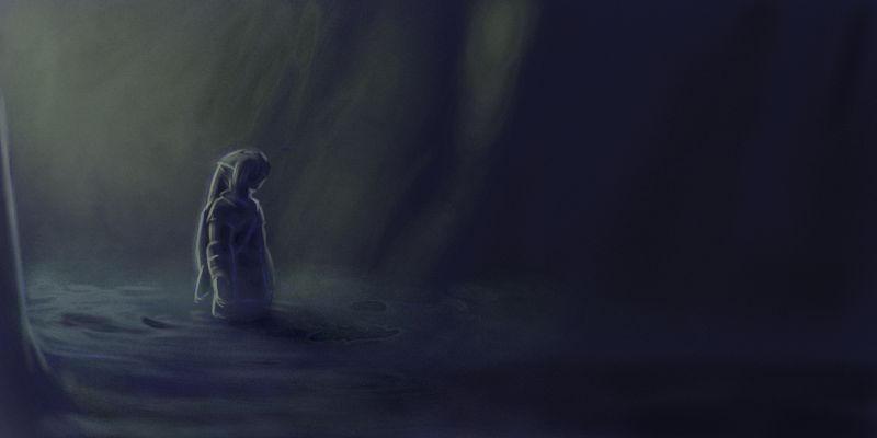 Zelda64 - in the darkness by rah-bop