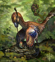 Jinfengopteryx elegans by rah-bop