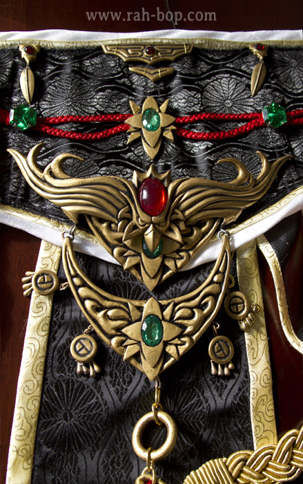Diablo III Wizard -- belt charms by rah-bop