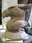 Gryphon bust