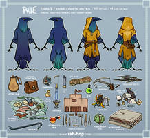 Rue reference sheet