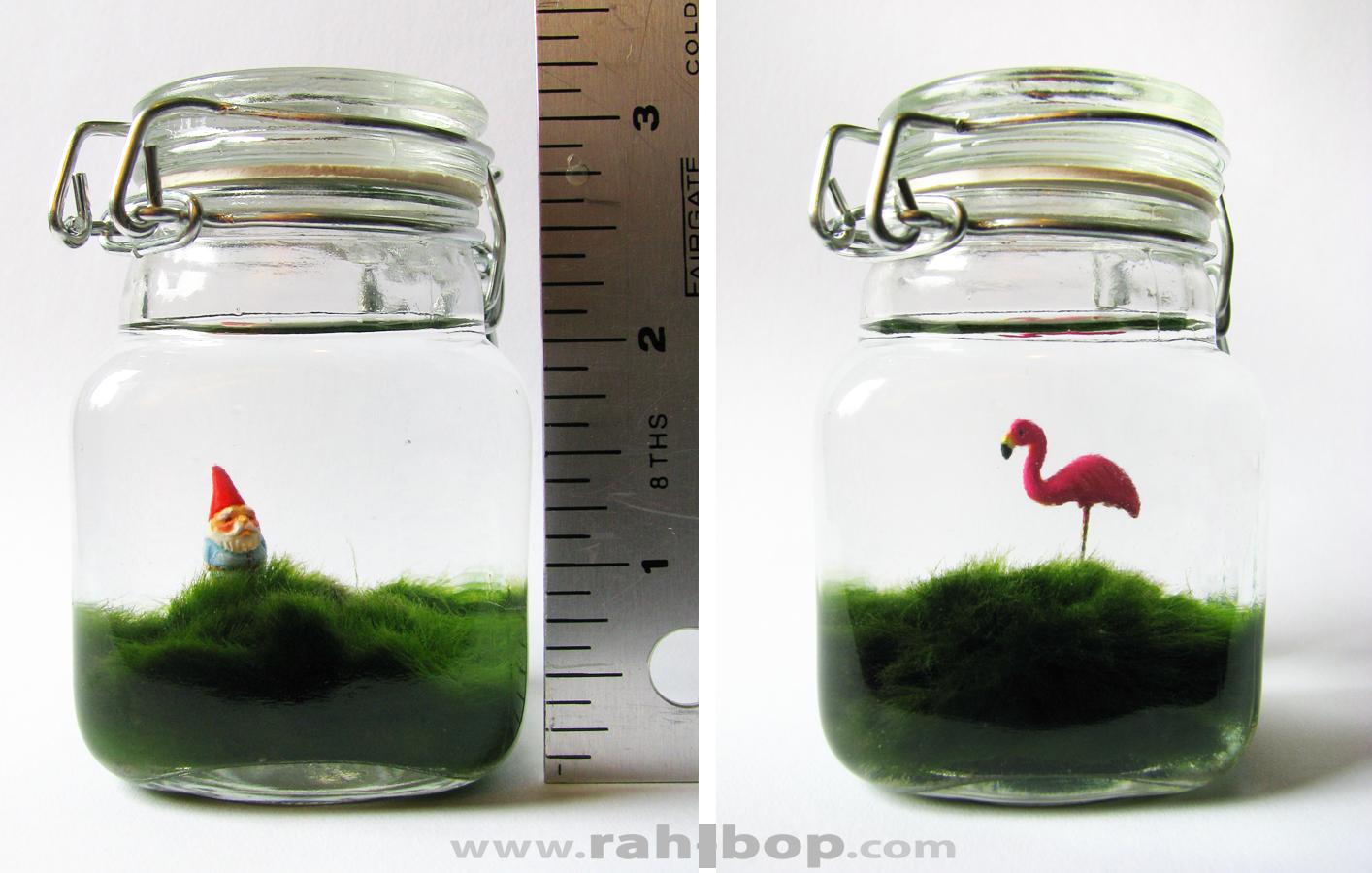 Lawn in a Jar - detail by rah-bop