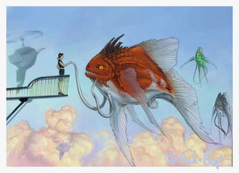 Meeting with Skyfish by rah-bop