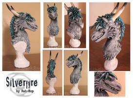 Silverfyre Bust by rah-bop