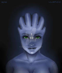 Liara's daughter by LiliePunk