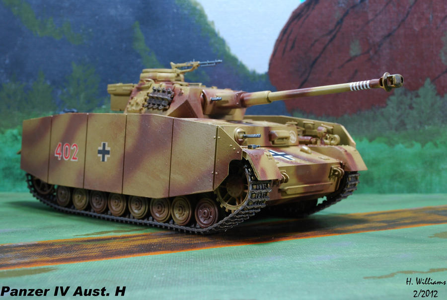 Panzer IV H with Schurzen skirts by 12jack12