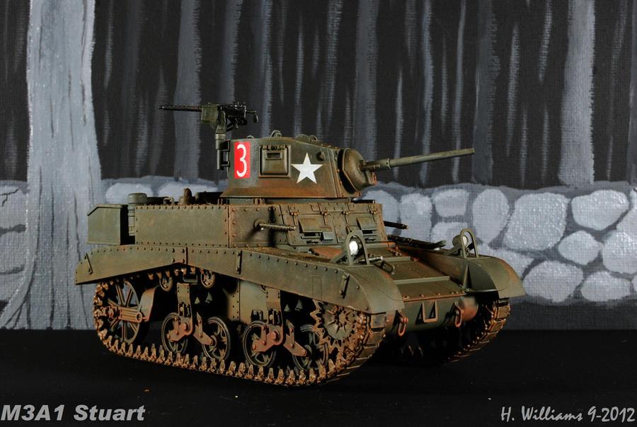 M3A1 Stuart 6 by 12jack12