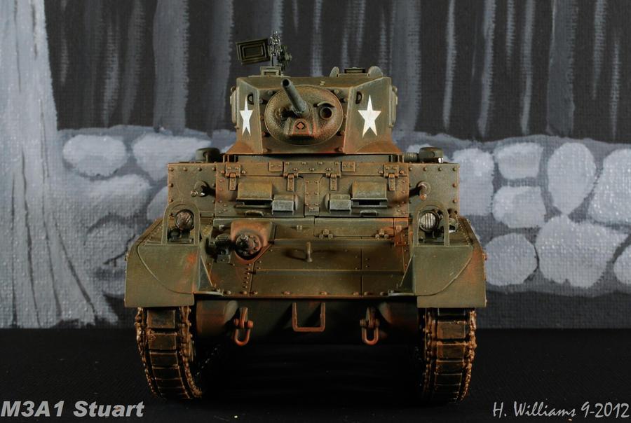 M3A1 Stuart Front by 12jack12