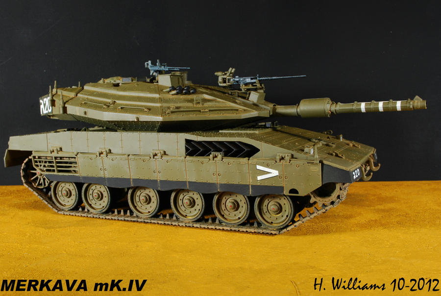 Merkava Mk.IV Right by 12jack12