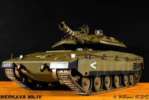 Merkava Mk.IV Front by 12jack12