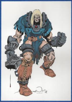 Walter Simonson's Ragnarok Thor Version 2