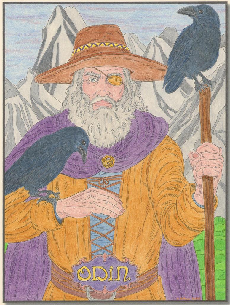 Odin by 12jack12