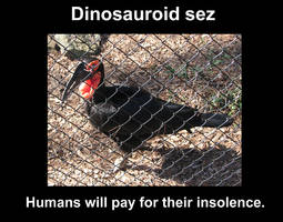 Lolscience - Dinosauroid by Pristichampsus