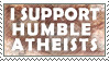 Humble Atheists by Pristichampsus