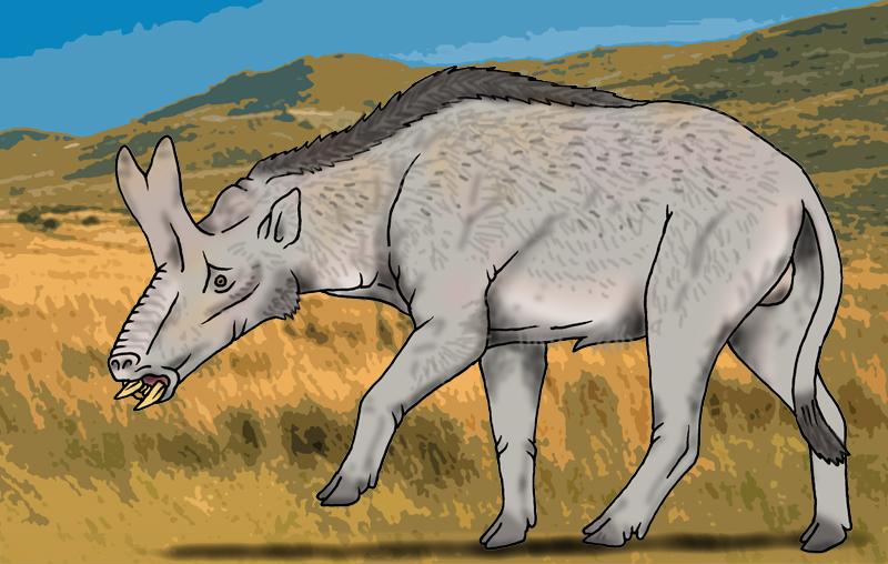 Brontothere Hornhog Background by Pristichampsus on DeviantArt