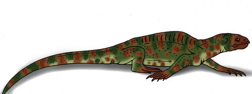Spinosuchus by Pristichampsus