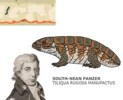 Nea Contest - South-Nean Panzer by Pristichampsus
