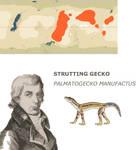 Nea Contest - Strutting Gecko by Pristichampsus