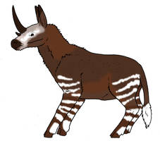 Magical Creatures Down Under: Tasmanian Unicorn by Pristichampsus