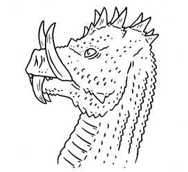 Zmay - Devil-tusk Dragon by Pristichampsus