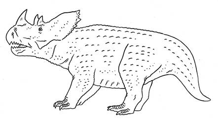Prehistoric Monsters - Carnivorous Herbivore by Pristichampsus