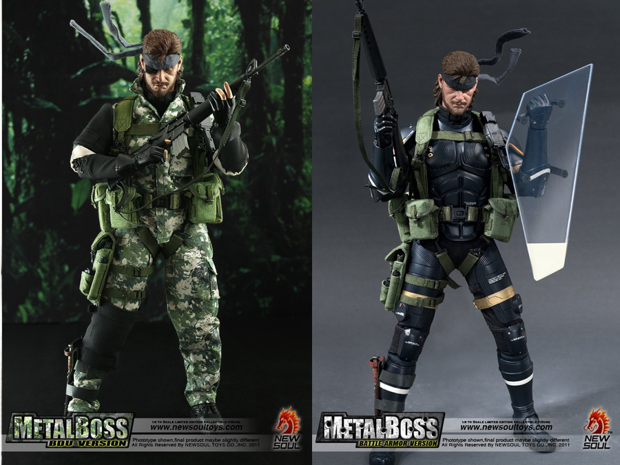 MetalSnake Big Boss MGS by Salaxus