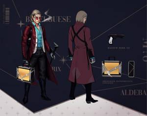 Desmond - character sheet