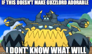 If this doesn't make Guzzlord adorable..
