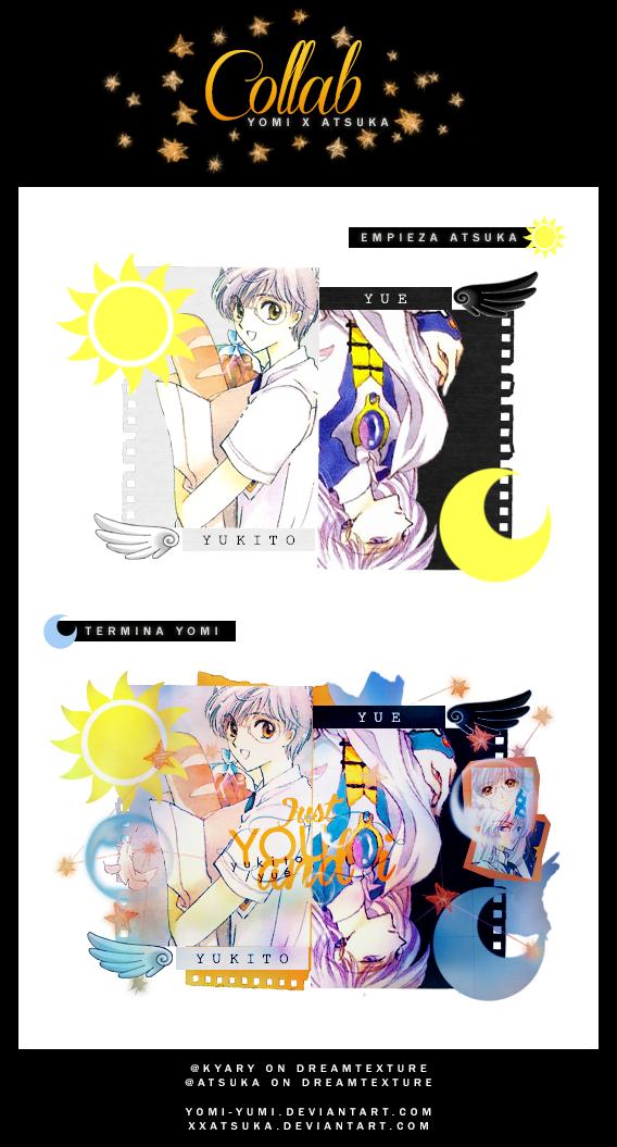 Yue / Yukito Collab by xxAtsuka