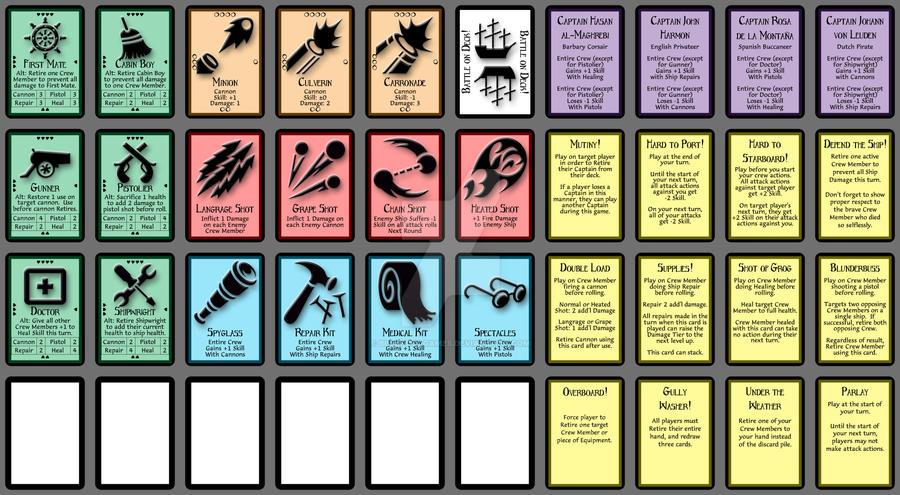 BOD - Prototype Card Set by BlueFoolGames
