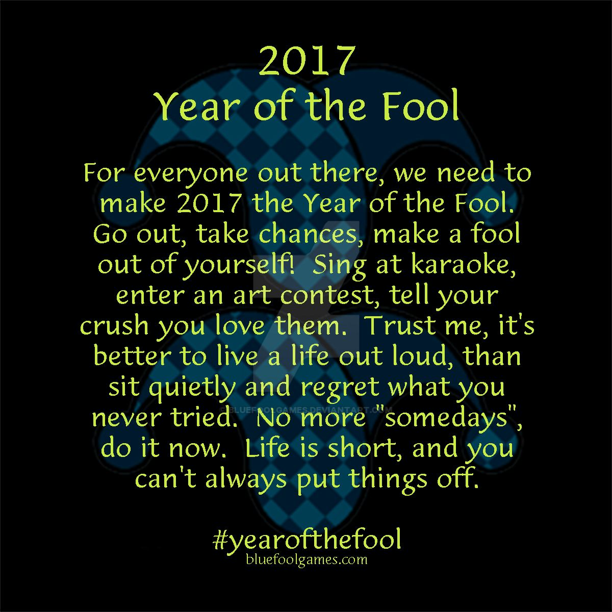Year of the Fool by BlueFoolGames