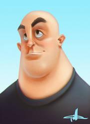 Big Guy by griffinator