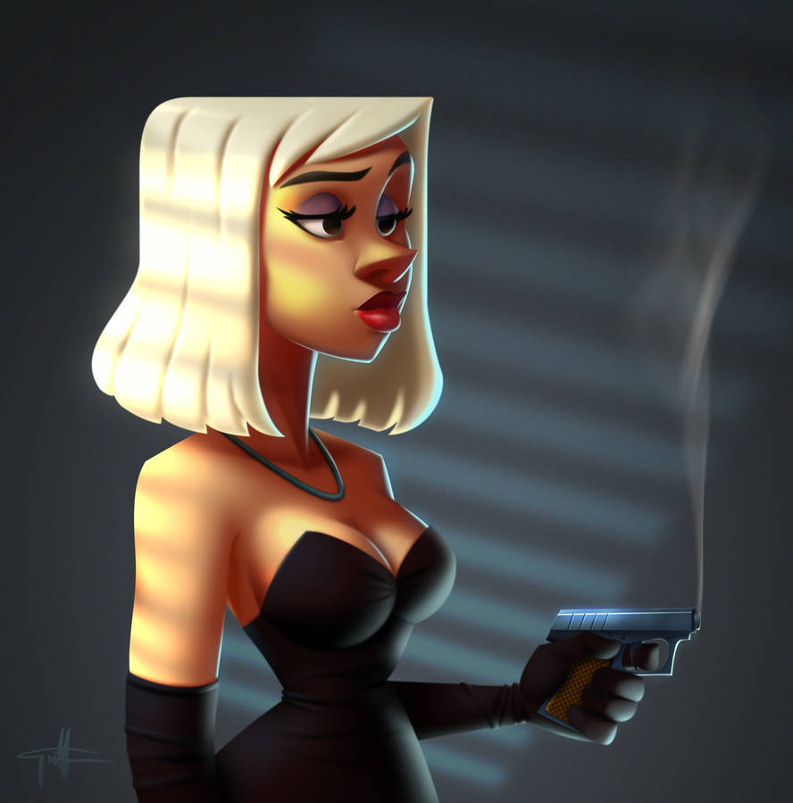 Femme Fatale by griffinator